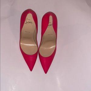 Christian Louboutin Hot pink heels size 42